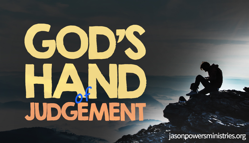 the judgement hand of God