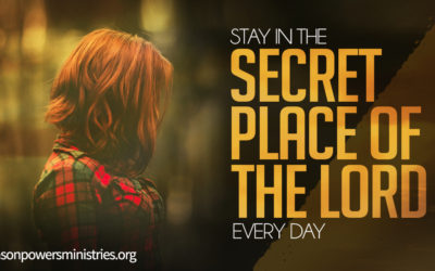 The Secret Place: Part 1 **PODCAST TRANSCRIPT**